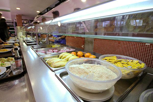 Servicio de comedor - Residencias Universitarias