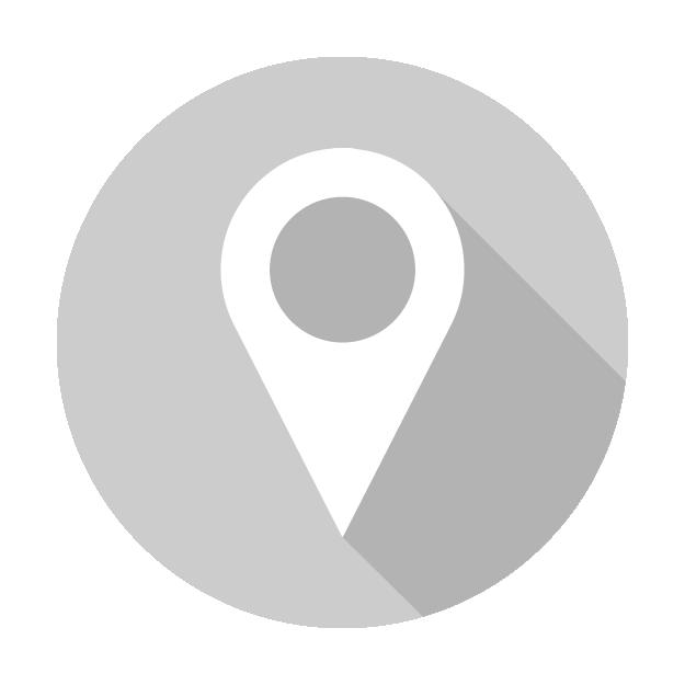 Resultado de imagen para icono de ubicacion blanco